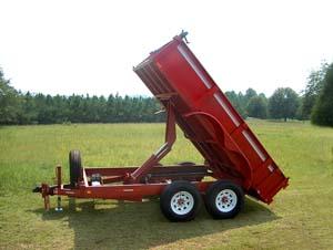 Dumps trailers at Southern Sales, Inc., Dump Trailers, Car ...